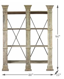 Pilaster Wall Shelf