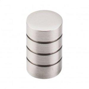 Stacked Knob 5/8 Inch - Brushed Satin Nickel