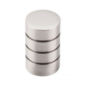 Stacked Knob 5/8 Inch - Brushed Satin Nickel