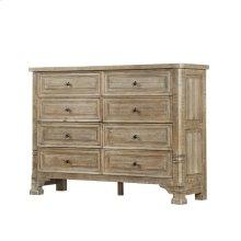 Emerald Home Kennewick 8 Drawer Dresser Weathered Pine B561-01-05