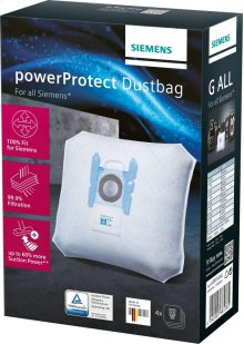 Vacuum cleaner bag PowerProtect dustbag: Type G ALL 4 dust bag Typ G