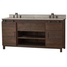 Sonoma Double Vanity w/ Sink & Marble Top - CCA