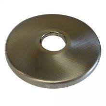 "Brushed Nickel Escutcheon 1/2"" CTS - 5/8"" OD Low Pattern 2-1/2"" OD"