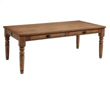 Bench 8 Ft. Taper Turned Dining Table
