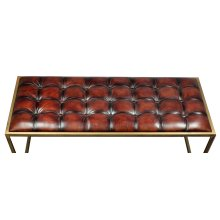 Tufted Coffee Table/Bench