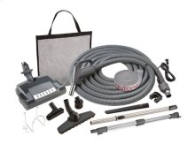 Combination carpet & bare floor electric pigtail attachment set