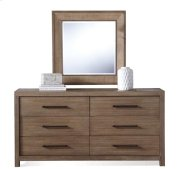 Mirabelle Accent Mirror Ecru finish Product Image