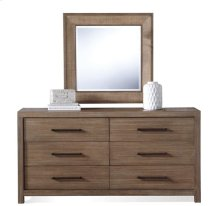 Mirabelle Accent Mirror Ecru finish