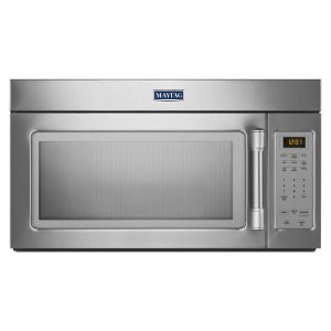 Compact Over-the-Range Microwave - 1.7 cu. ft. - STAINLESS STEEL