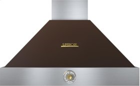 Hood DECO 36'' Brown matte, Gold 1 blower, analog control, baffle filters