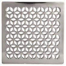 "Forever Brass - PVD 4"" Square Shower Drain"