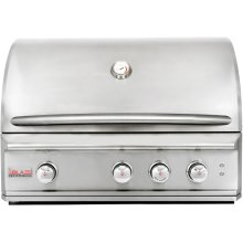 Blaze Professional 34-Inch 3 Burner Built-In Gas Grill With Rear Infrared Burner, With Fuel type - Propane