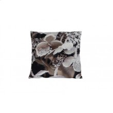 Pillow 45x45 cm GROW with print brown-white