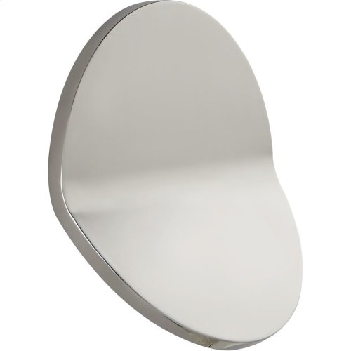 Visual Comfort PB2055PN Peter Bristol Bend LED 12 inch Polished Nickel Outdoor Wall Light, Large Round