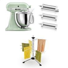 Exclusive Artisan® Series Stand Mixer & Pasta Attachments Set - Pistachio