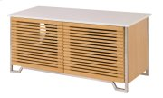 TV Console White Top Product Image