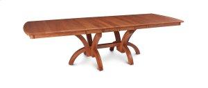 Adeline Double Pedestal Table, 2 Leaf