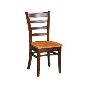 JOHN THOMAS FURNITUREEmily Chair in Cinnamon & Espresso