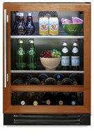24 Inch Overlay Glass Door Beverage Center - Left Hinge Overlay Glass Product Image