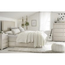 Indio by Wendy Bellissimo Upholstered Bed Complete 3/3, Twin