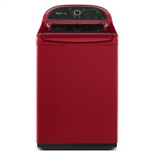 Cranberry Red Whirlpool® Cabrio® Platinum 4.8 cu. ft. HE Top Load Washer with Greater Capacity