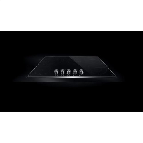 """Jenn-Air® Lustre Stainless 36"""" Electric Radiant Cooktop - Stainless Steel"""