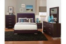 Queen Bed, LED Lighting