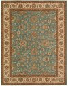 LIVING TREASURES LI05 AQU RECTANGLE RUG 7'6'' x 9'6''