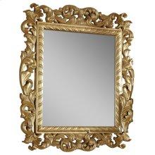 """Zelda Gold Mirror - 44""""W x 51""""H"""