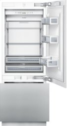 30 inch Custom Panel Built-In Bottom-Freezer T30IB800SP Product Image