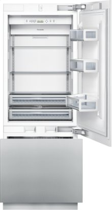 30 inch Custom Panel Built-In Bottom-Freezer T30IB800SP