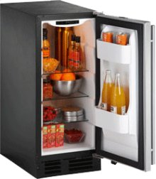 """Stainless Right-hand 2000 Series / 15"""" Refrigerator Model"""