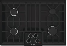 "30"" Gas Cooktop 500 Series - Black NGM5064UC"