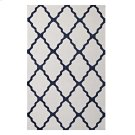 Marja Moroccan Trellis 5x8 Area Rug in Ivory and Navy Product Image
