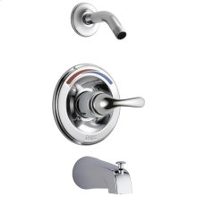Chrome Monitor ® 13 Series Tub & Shower Trim - Less Head