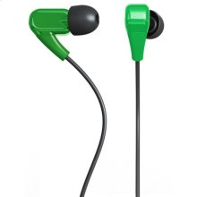 Polaroid PHP730-GN Noise Isolating Earbuds with Stereo Quality Sound, Green