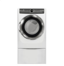Front Load Perfect Steam Electric Dryer with LuxCare® Dry and Instant Refresh - 8.0 Cu. Ft.