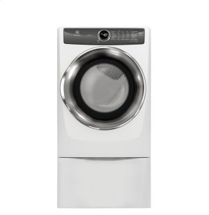 Front Load Perfect Steam Electric Dryer with LuxCare® Dry and Instant Refresh - 8.0 Cu. Ft. Product Image