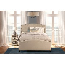 Kerstein Bed Set - Queen - Rails Included - Lt Taupe
