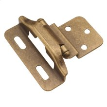 Semi-Concealed 3/8 In. Offset 1/4 In. Overlay (2-Pack)