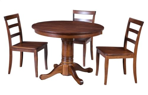 "36-2-12"" Leaf Octagonal Pedestal Table"