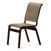 Aruba Sling Dining Height Armless Cafe Chair