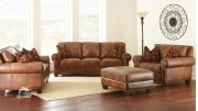 "Silverado Sofa, 91""x41""x38"" w/ Two Accent Pillows Product Image"