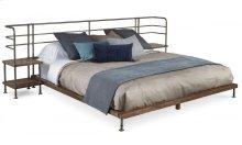 Epicenters Queen Factory Platform Bed + 2 Nightstands