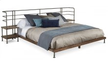 Epicenters Queen Factory Platform Bed + 2 Nightstands