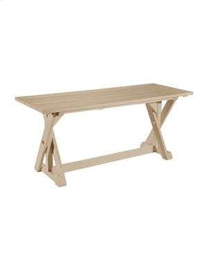 """T201 72"""" Dining Table"""