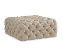 The Foundry Upholstery Banks Tufted Ottoman