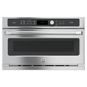 GE Cafe30 in. Single Wall Oven with Advantium(R) Technology