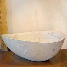 One of A Kind Bathtubs Papillon / Rosalia Marble
