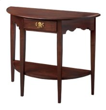 Crescent Hall Table